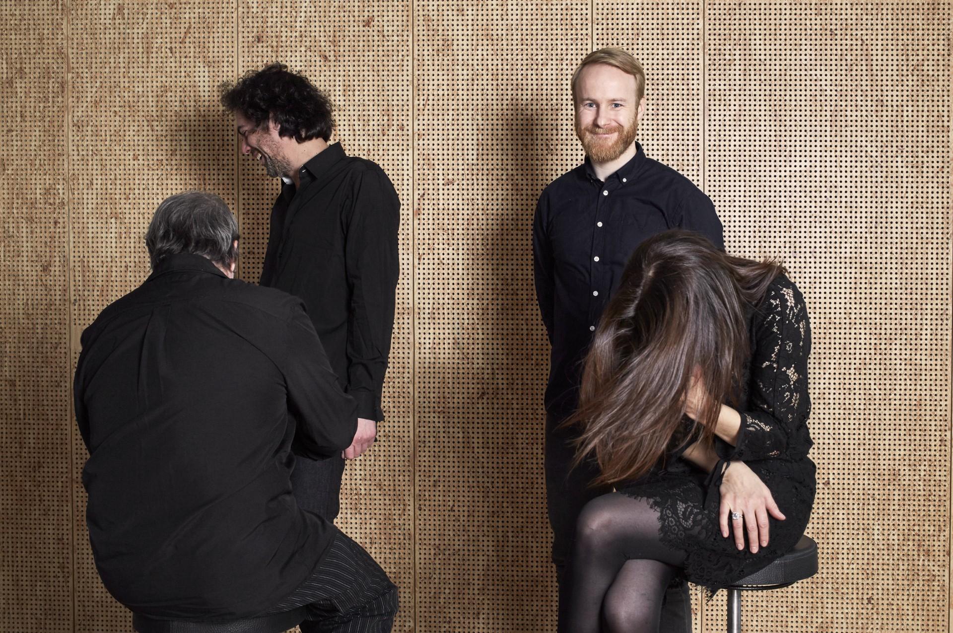 Susanne Abbuehl, Matthieu Michel, Wolfert Brederode, Øyvind Hegg-Lunde (photograph by Gabrielle Besenval)