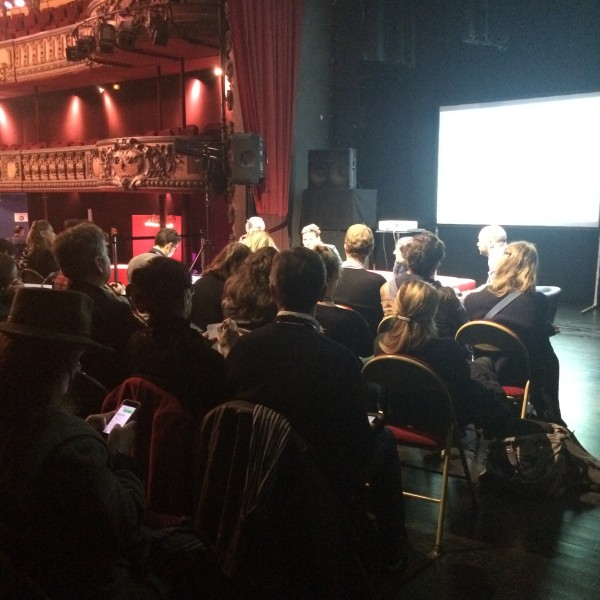 conference about audiovisual streaming @ Trianon