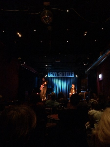 Sidsel Endresen & Stian Westerhus live @ Jazzkantine