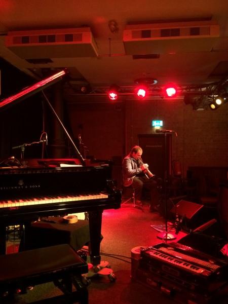 soundcheck galore with Matthieu Michel