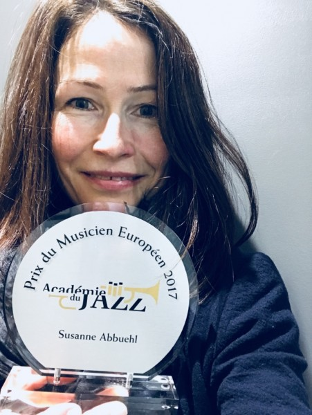 January 21, 2018: winning the European Musician 2017 award by the French Académie du Jazz in Paris